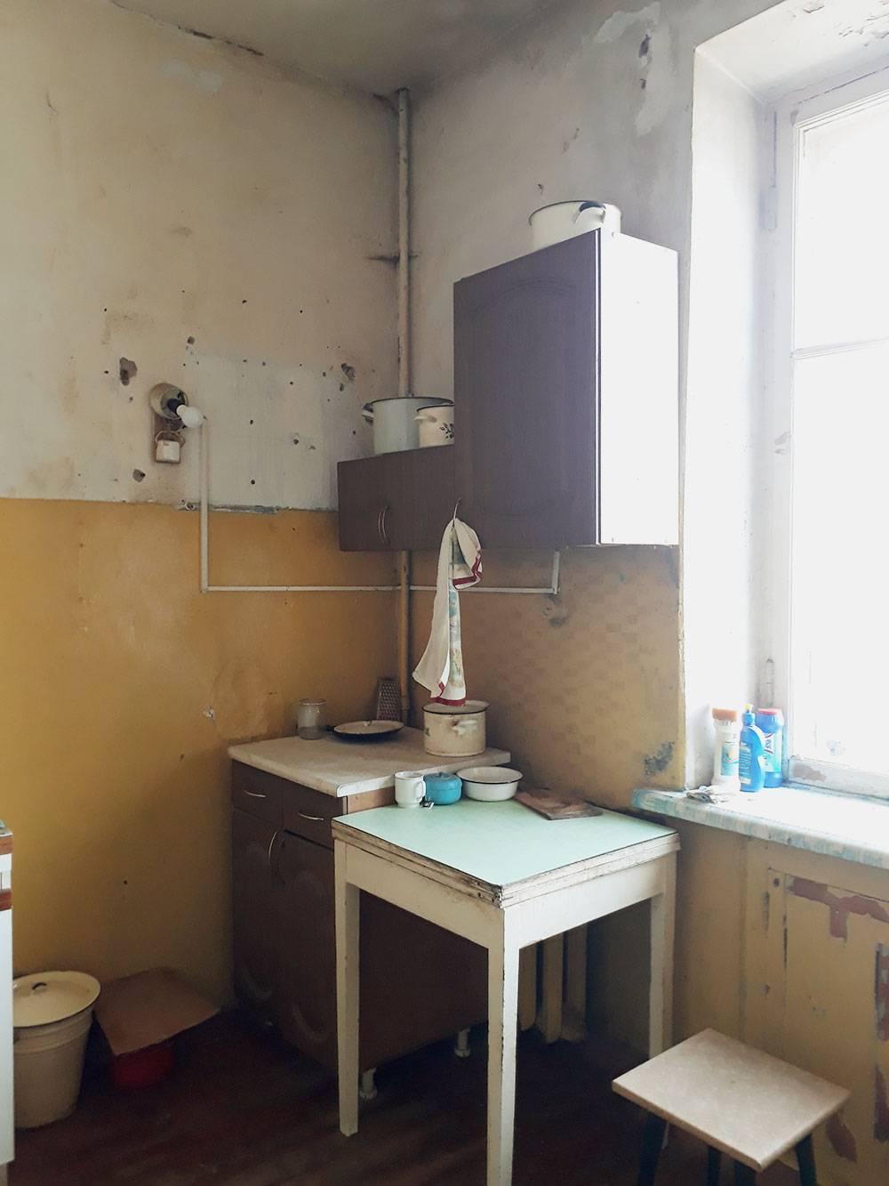 Это наша зона на кухне