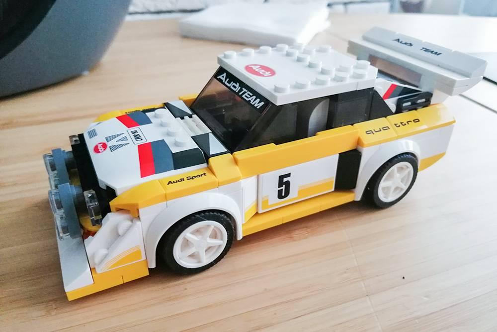 Машинка Ауди Quattro S1