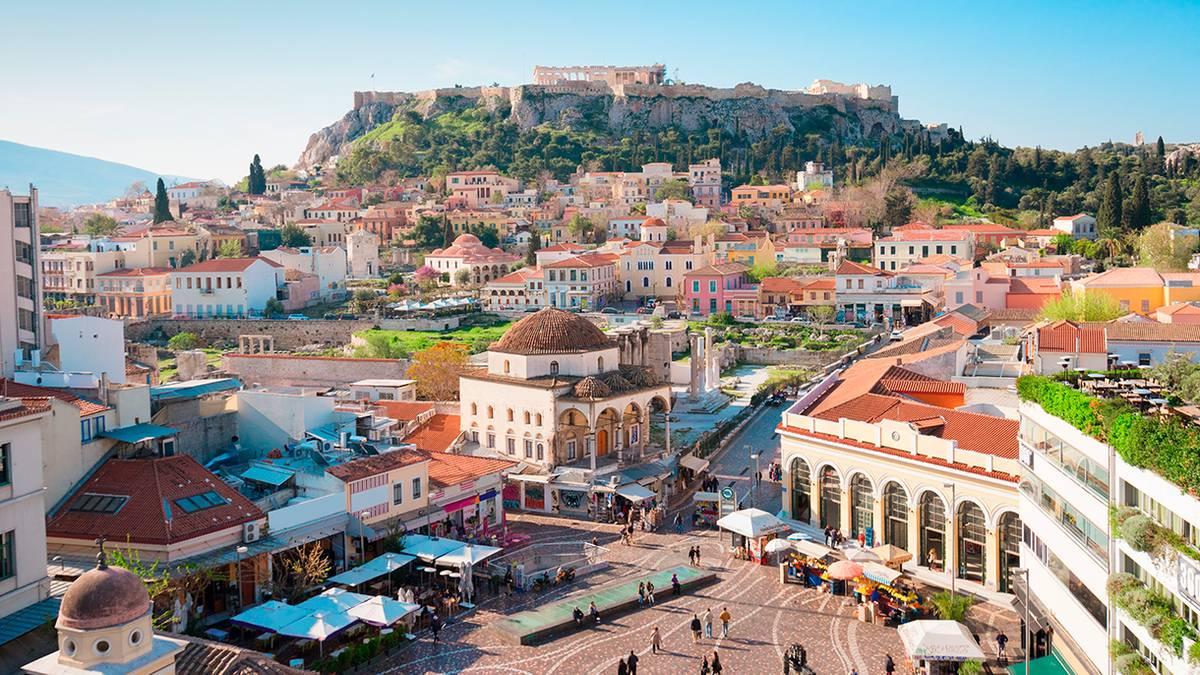 Что посмотреть в Афинах за один день