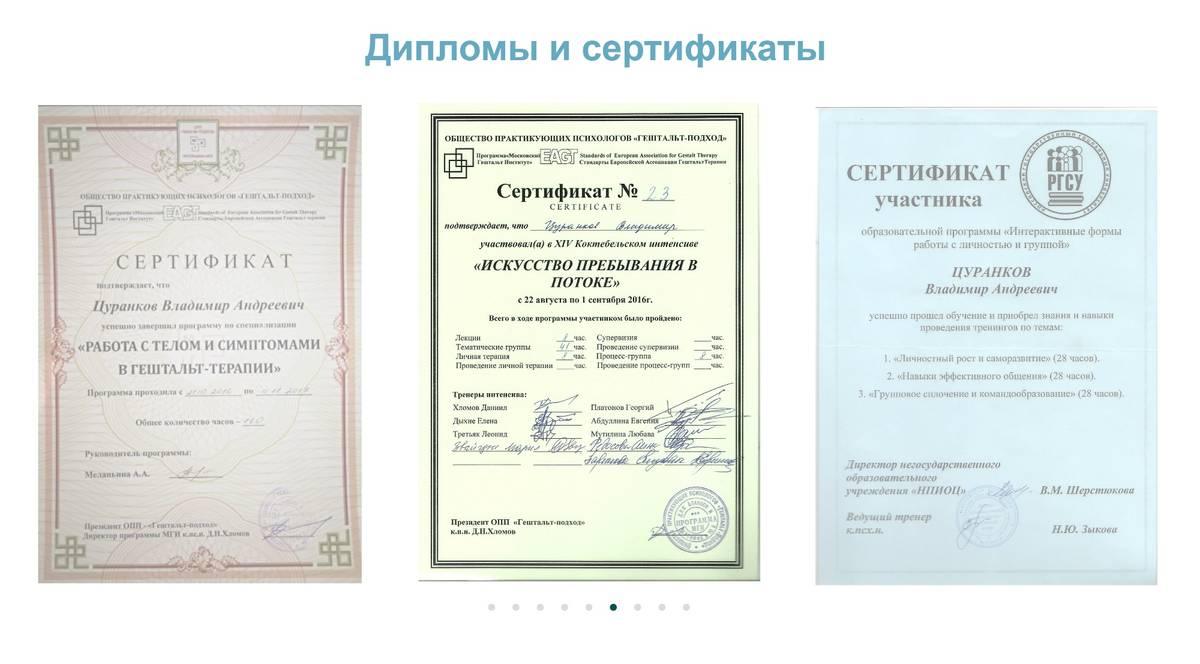 Я выложил на сайте все свои сертификаты, но это не привлекло клиентов