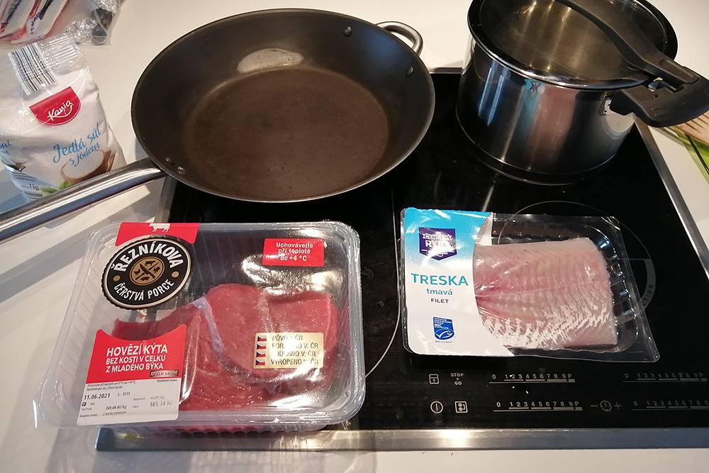 Я очень привыкаю к конкретной посуде и технике в готовке. Посмотрим, что получится на новом месте