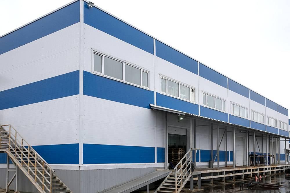 Здание фабрики в Подольске, в технопарке «Подолье»
