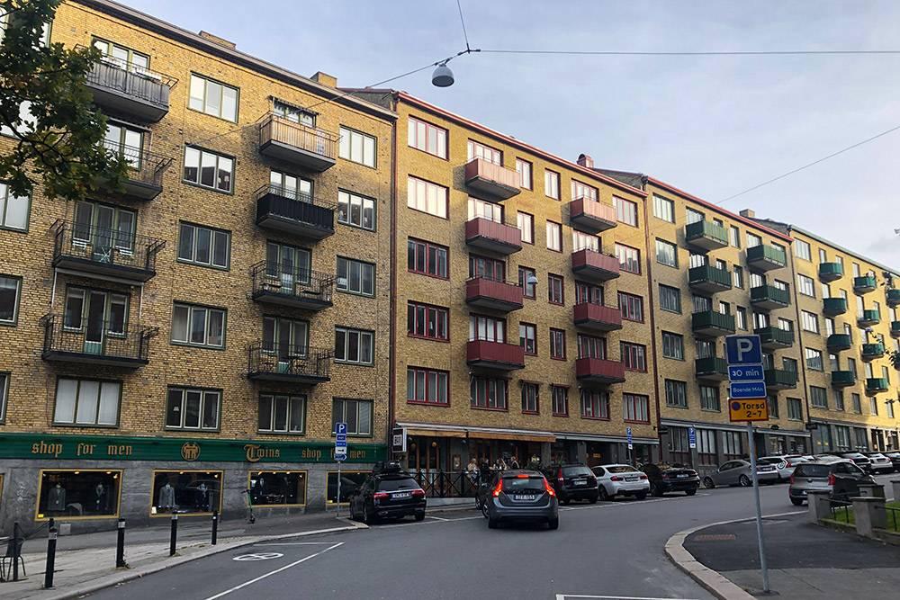 Этот дом находится вцентре Гетеборга, издесь тоже ждут квартир по20лет