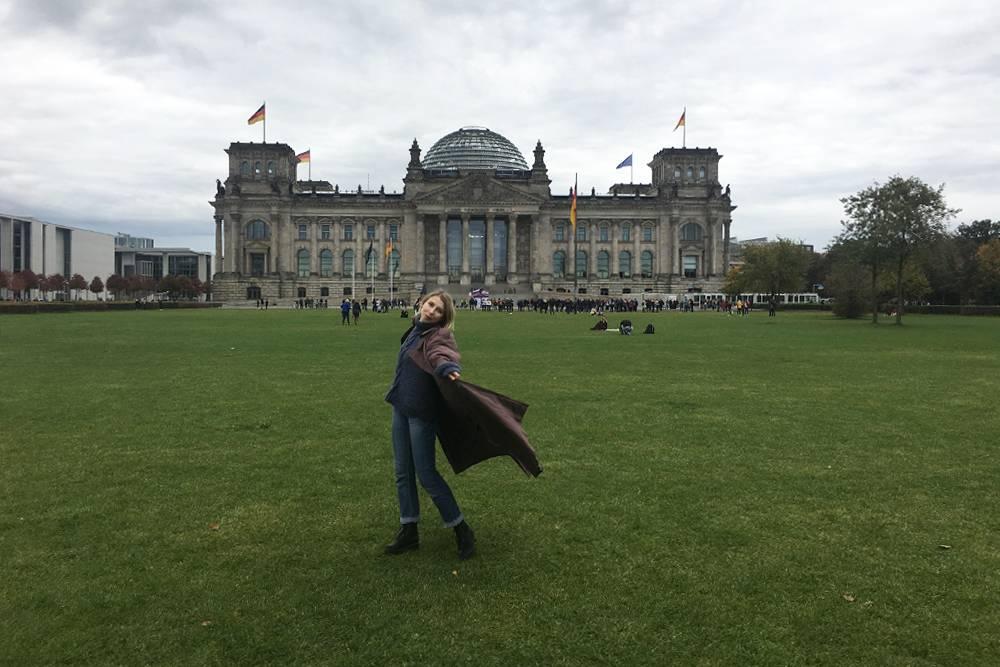 Я на фоне Рейхстага