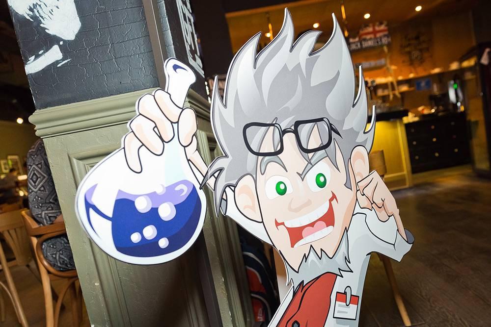Тот самый картонный профессор Квизиум