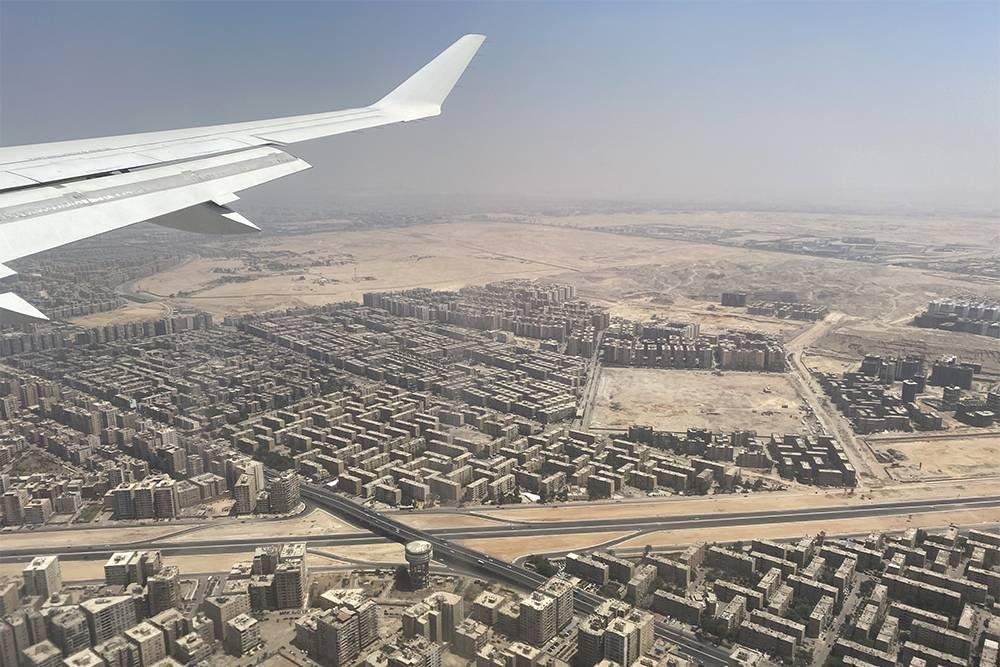 Дома в Каире цвета пустыни