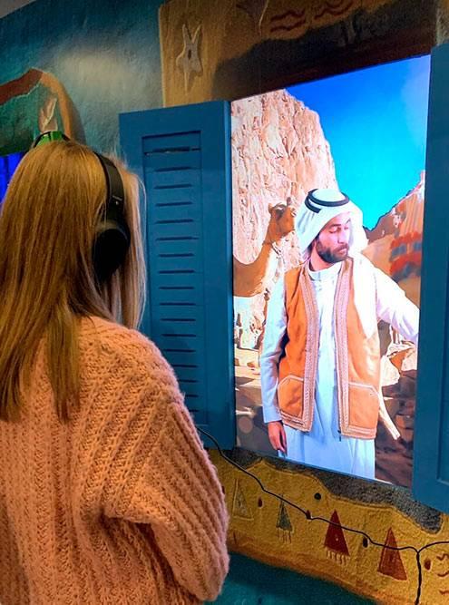 Электронный собеседник рассказывал об истории и культуре Египта