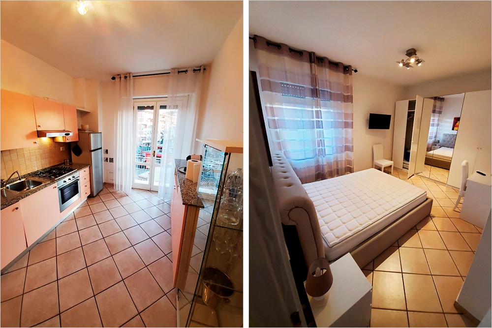 Наша квартира была укомплектована мебелью и бытовой техникой, новой посудой, полотенцами и постельными принадлежностями