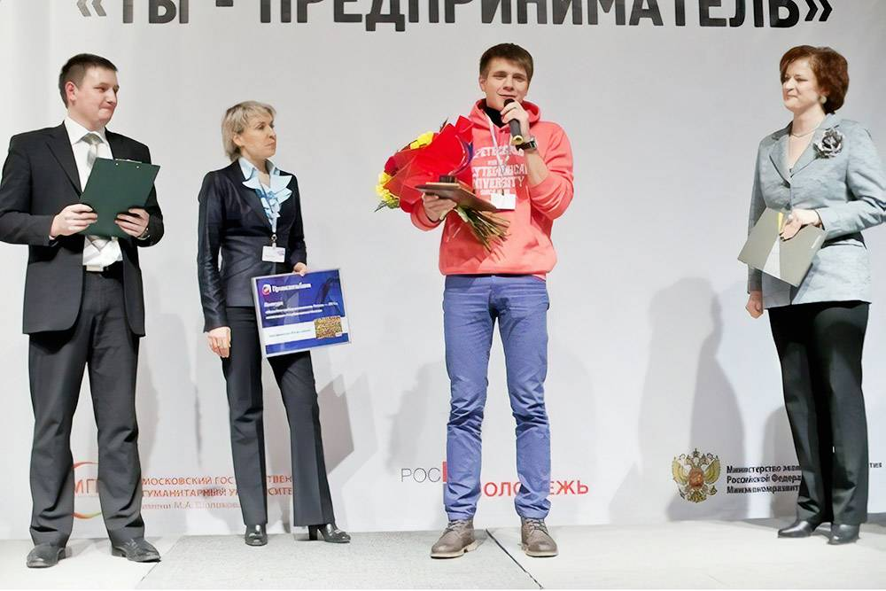 В 2012 Семен победил в конкурсе «Молодой предприниматель России» в номинации «Студенческий бизнес»