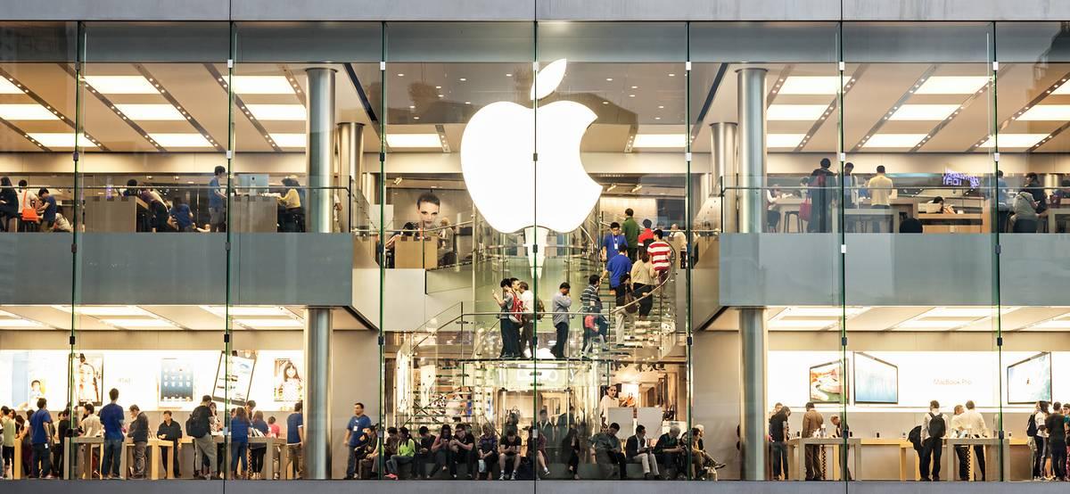 Как обычно торгуются акции Apple до и после презентации новых iPhone