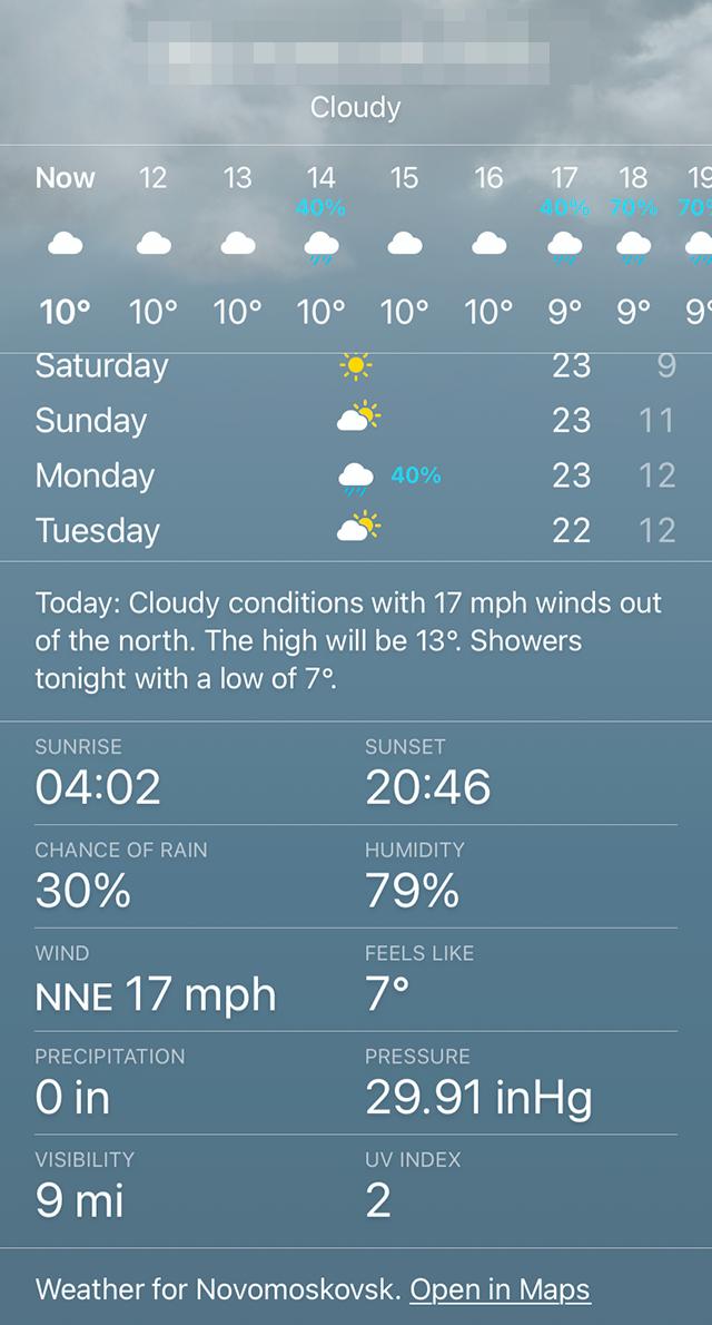 Жаль, что погода сегодня не прогулочная