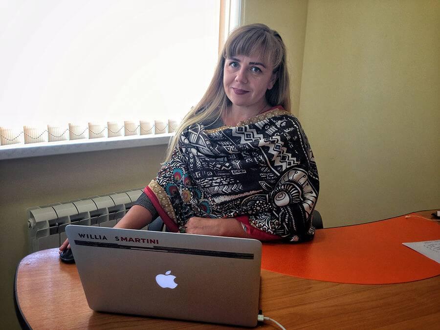 Надежда Вертинская, руководитель офиса «Биглион» в Сочи