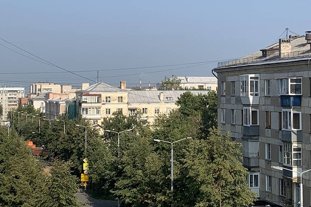 В центре Челябинска
