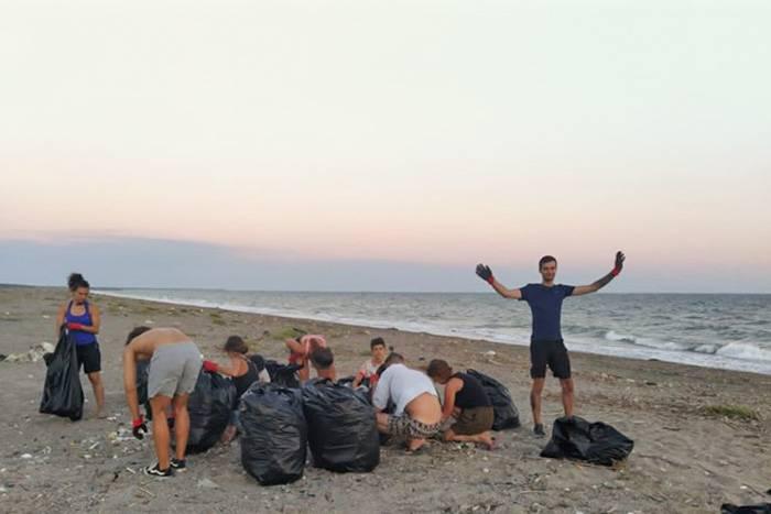 На фото — волонтеры из России, Чехии, Италии, Португалии, Испании и Польши