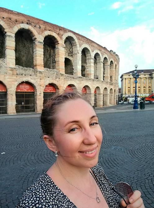 Арена-ди-Верона — древний римский амфитеатр