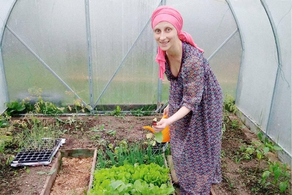 В своей теплице я начинаю высаживать зелень уже в конце апреля
