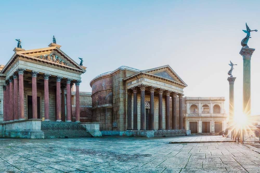 Киностудия «Чинечитта» в Риме