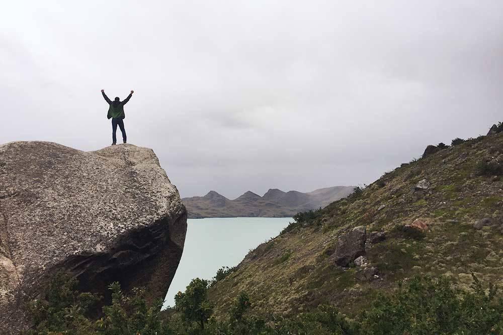 Здесь чувствуешь себя на вершине мира, вдалеке от всех забот