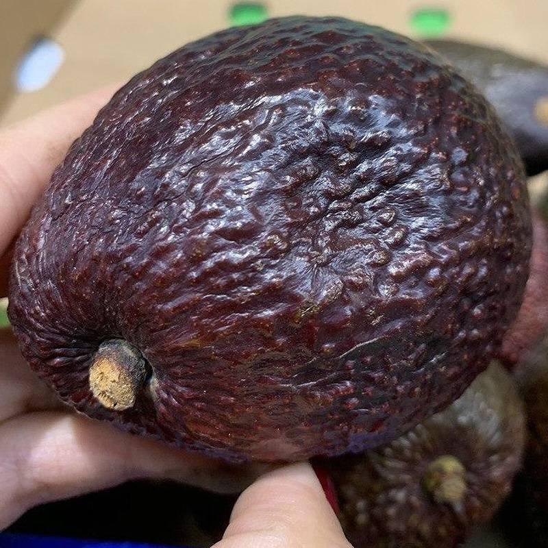 Авокадо, у которого не разглаживается место от надавливания, как на этом фото, — перезрелое