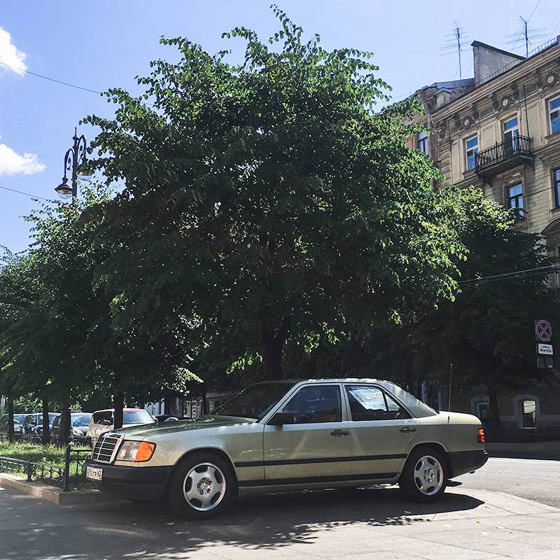Вот такую я купил машину