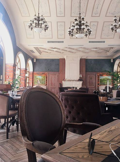 Внутри ресторана «У Печорина»