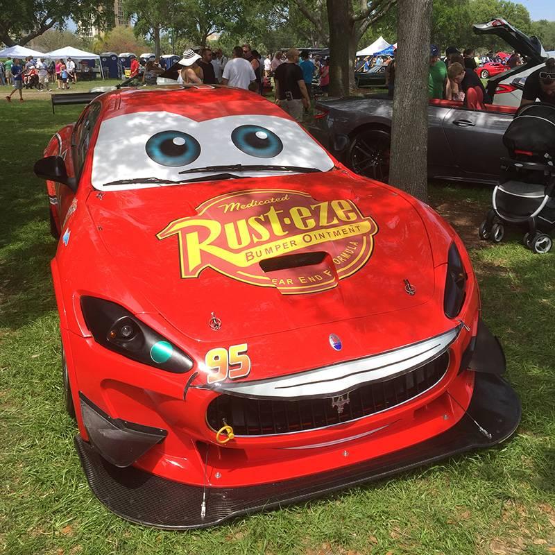 Экспонат на автомобильной выставке — не игрушка