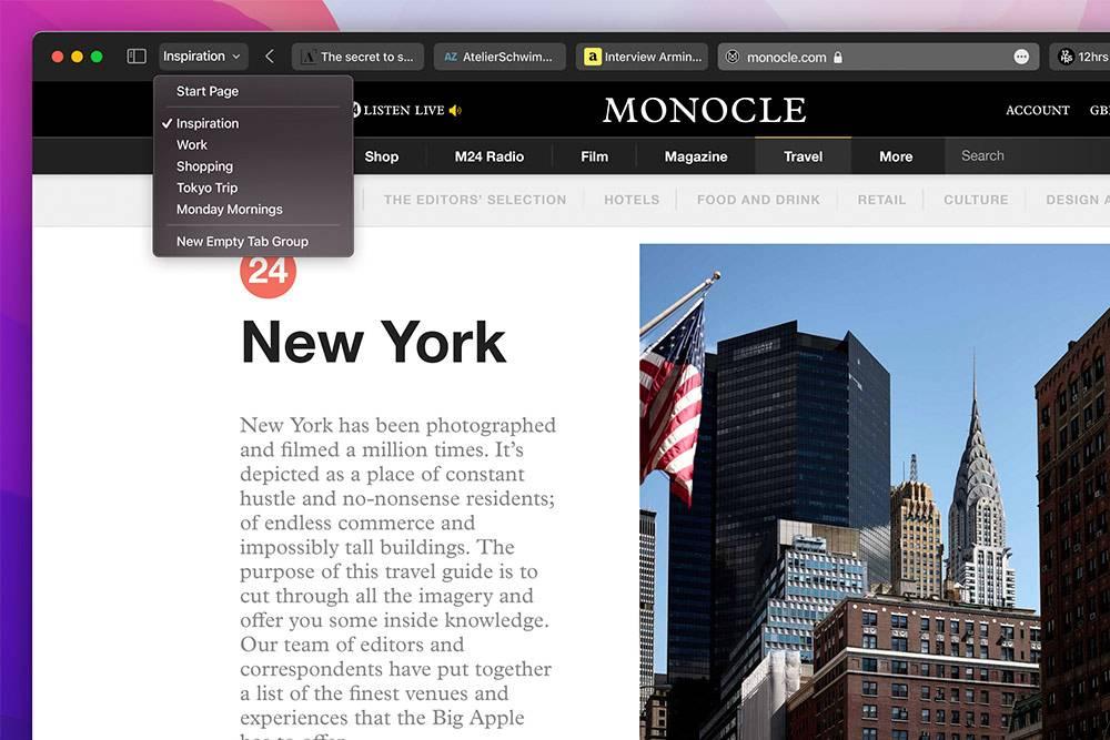 Вот так теперь будет выглядеть браузер Safari
