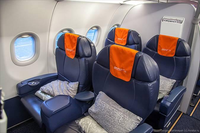 Бизнес-класс в «Аэрофлоте». За трехчасовой перелет из Москвы в Берлин заплатите 45 000<span class=ruble>Р</span>