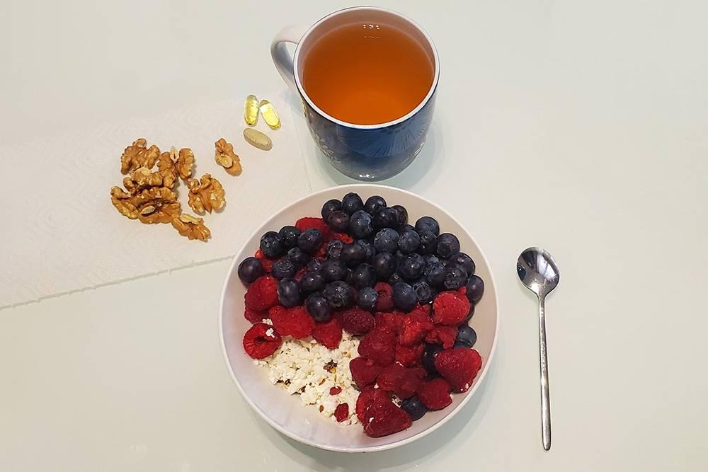 Мой завтрак сегодня