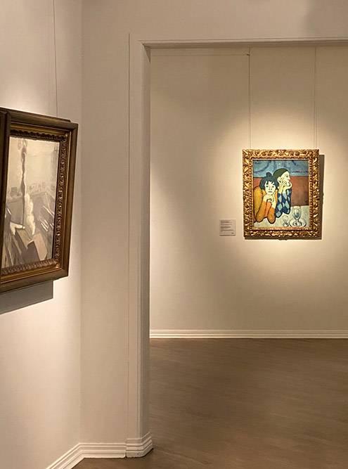 Одна из моих любимых картин Пабло Пикассо — «Арлекин и его подружка»