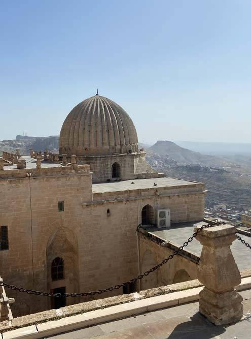 Старинное исламское учебное заведение в Мардине, сейчас здесь музей