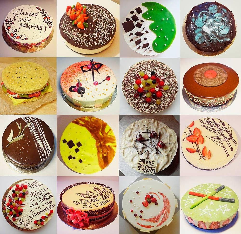 Первые торты назаказ, сделанные в2013году