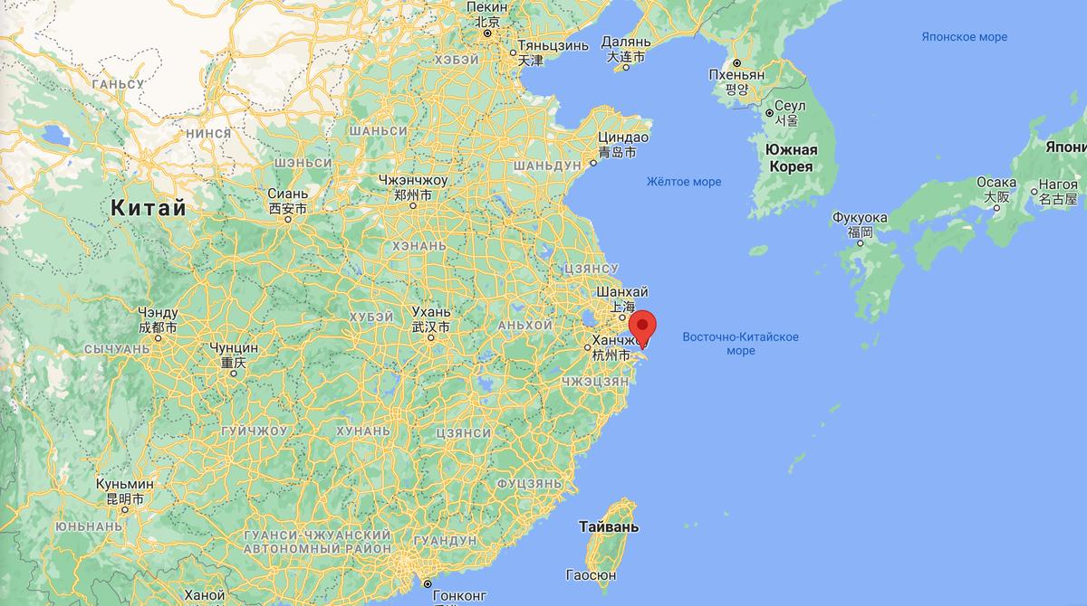 Мой остров находится на восточном побережье Китая — в самой зажиточной и экономически активной части страны