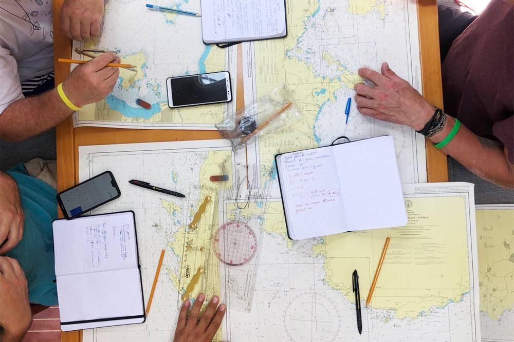 Курс навигации в рамках IYT Bareboat Skipper