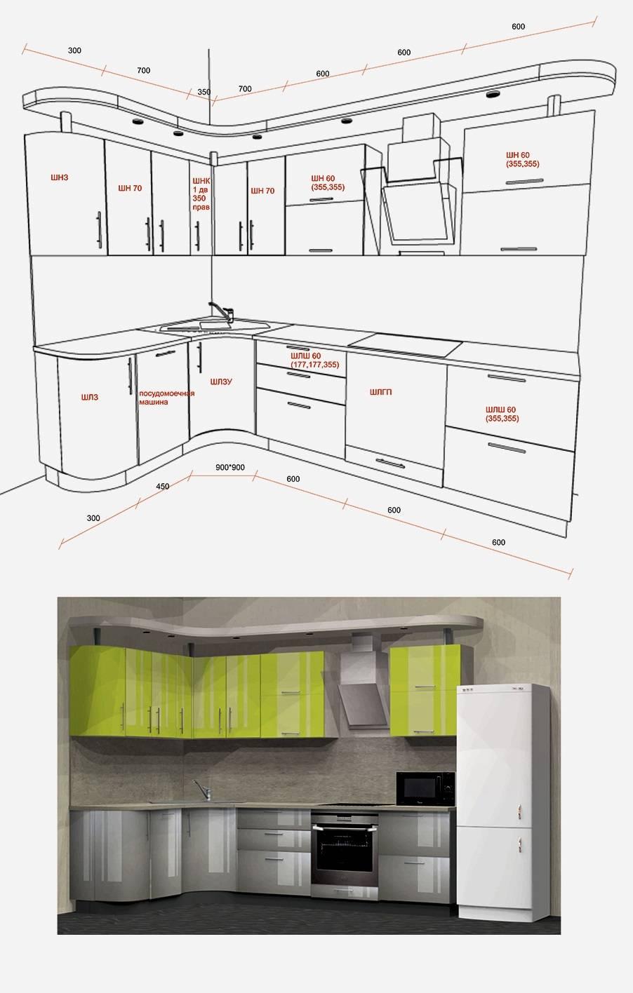 Несколько месяцев работы с корпусной мебелью дали мне представление о материалах и проектировании кухонь, во время ремонта пригодилось