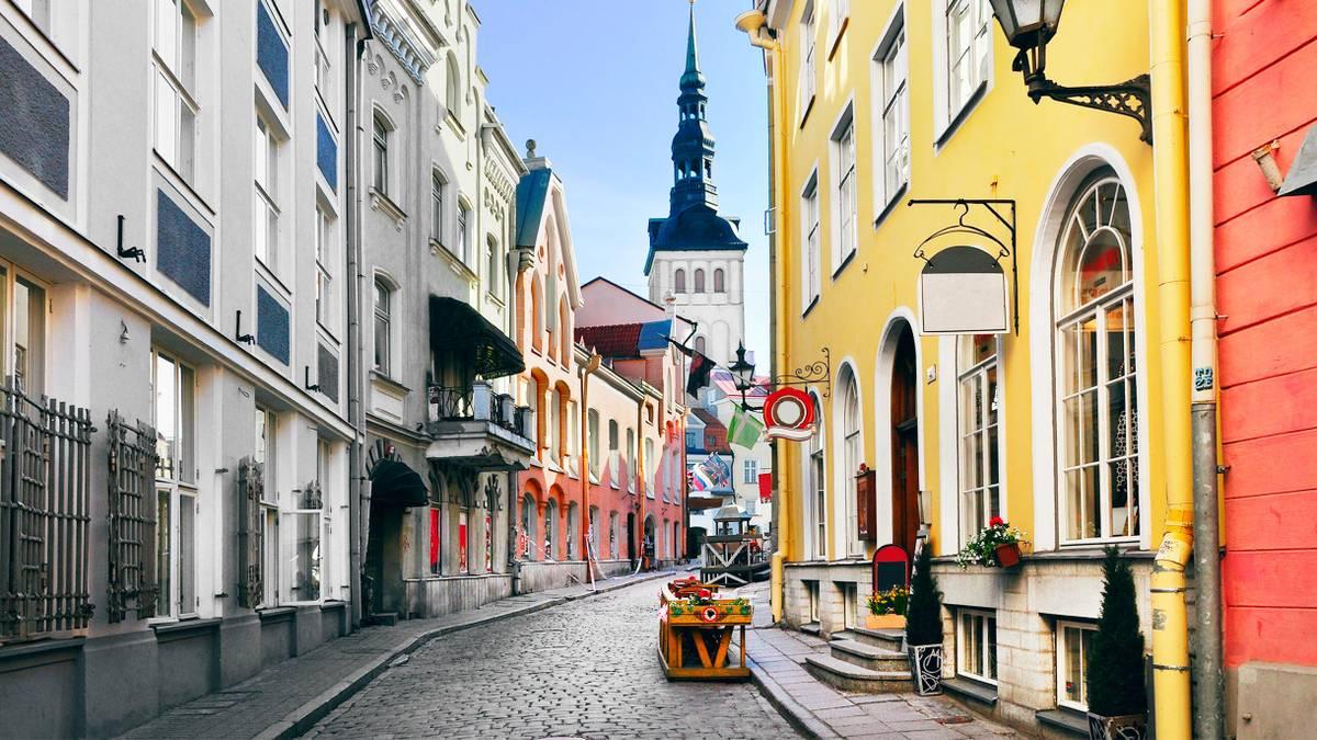 Что посмотреть в Таллине за один день