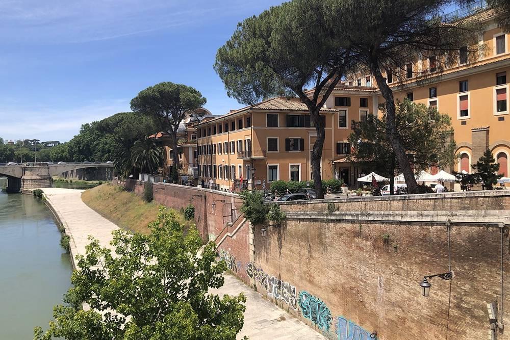 Мои дочки родились в самом сердце Рима, в госпитале Фатебенефрателли на Тиберийском островке