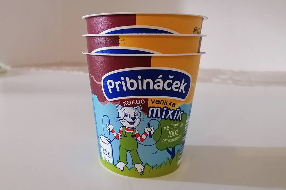 Вот этот йогурт совершенно потрясающей консистенции