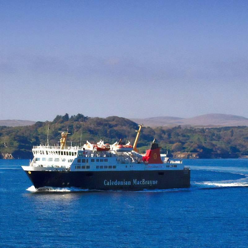 Паром «Каледониан-макбрейн» на остров Льюис. Фото: Caledonian MacBrayne and CalMac