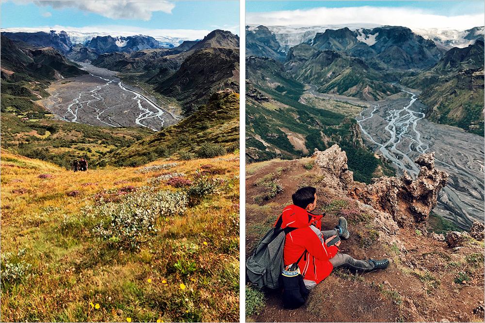 В долине Торсмёрк мы познакомились с москвичкой Татьяной, которая победила опухоль головного мозга и пошла в четырехдневный хайкинг по исландским горам