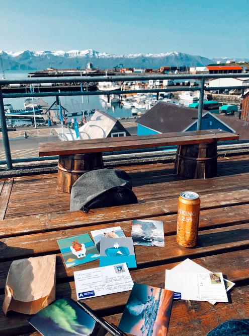 Открытки из Исландии шли доРоссии около месяца