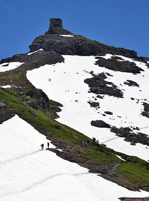 Ежегодно по этому маршруту проводится ультрамарафон Ultra-Trail du Mont-Blanc, участники которого преодолевают дистанцию за 24 часа