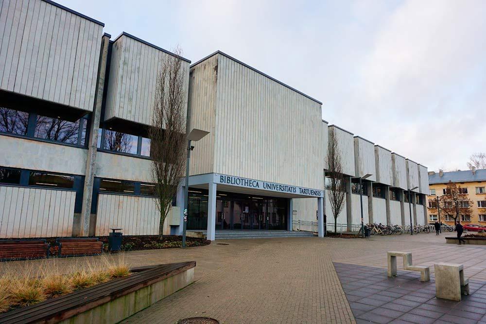 Здание библиотеки Тартуского университета