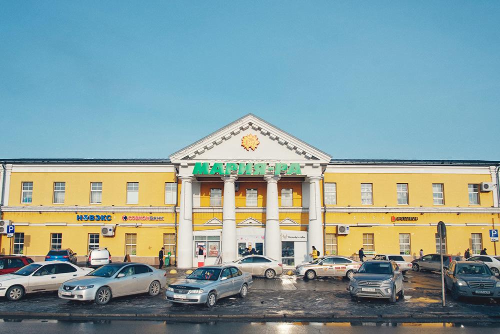 «Мария-Ра» в старом доме на Демидовской площади. Фото: Максим Наземцев