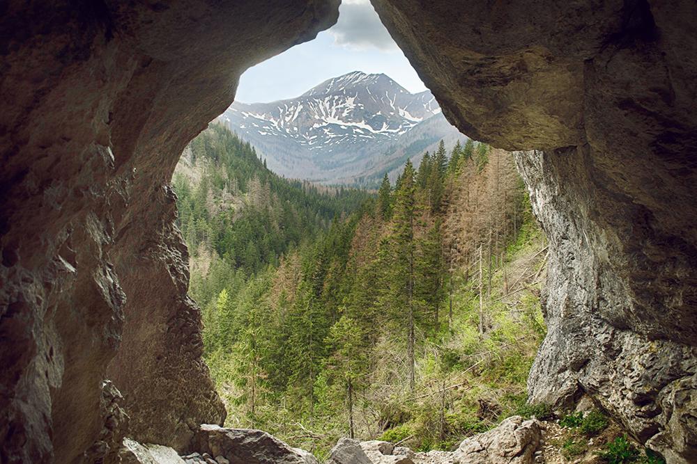 От видов из пещер захватывало дух