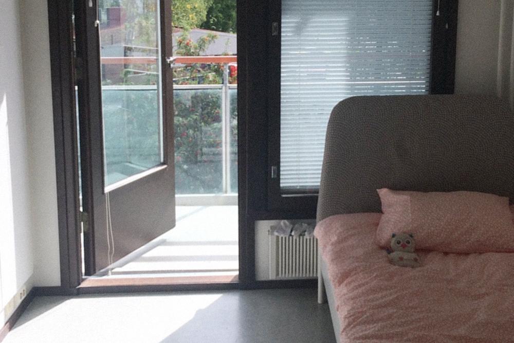 Моя первая студенческая квартира в городе Валкеакоски