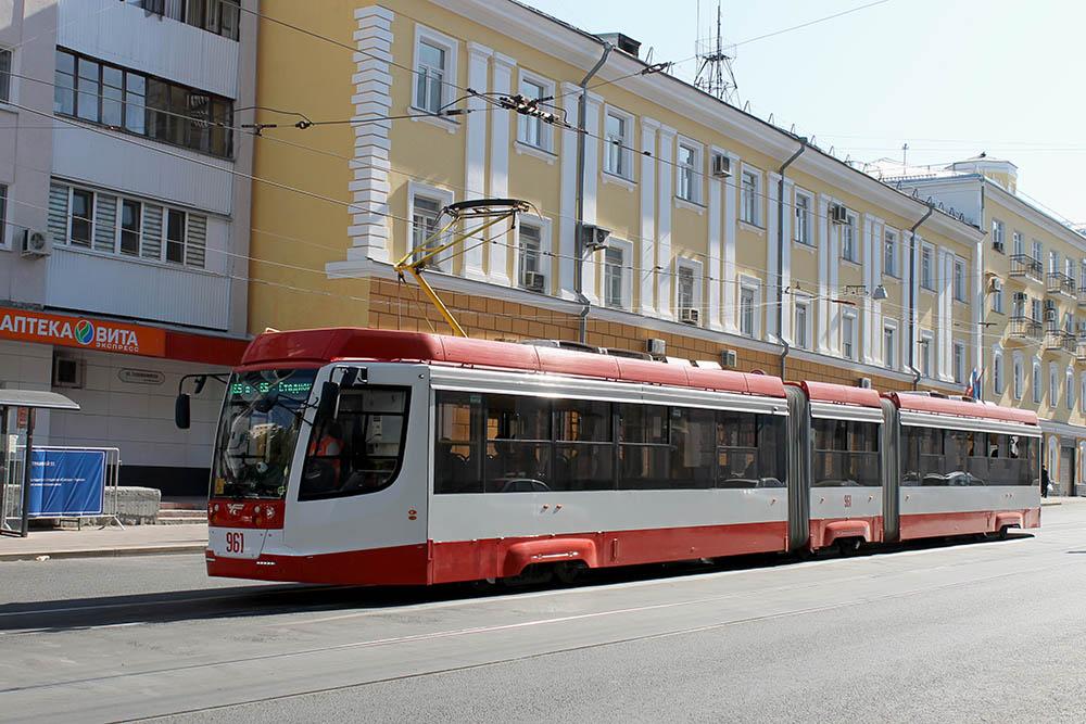 В Самаре два трамвая ходят кругами: № 23 и № 4