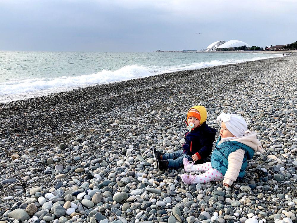 Море, Сочи, дети