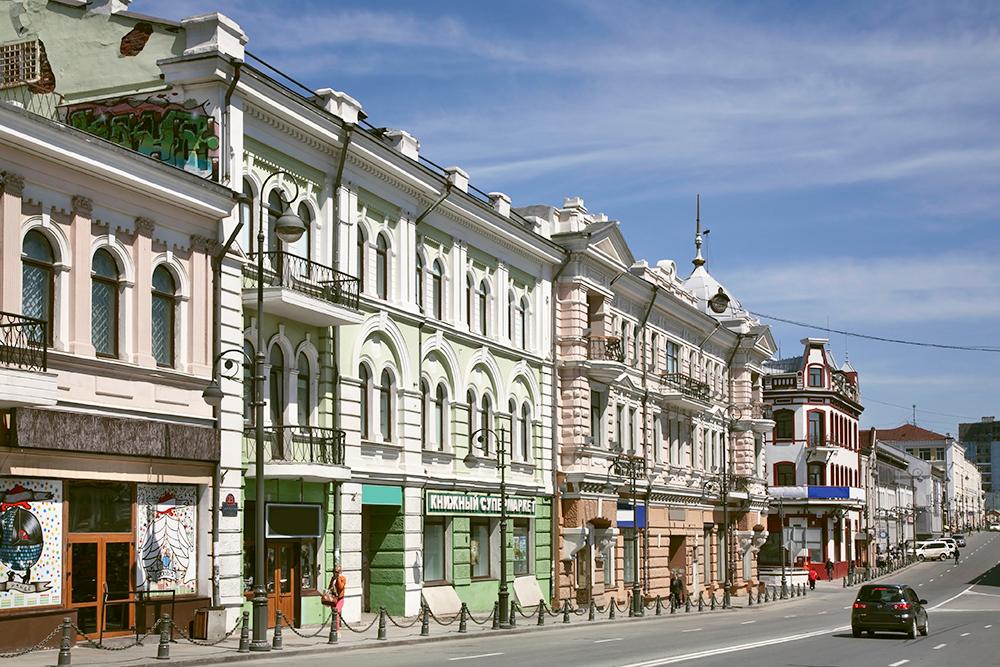 Застройка на улице Алеутской. Улицу назвали в честь судна «Алеут», которое помогало исследовать здешние берега. Фото: Shutterstock