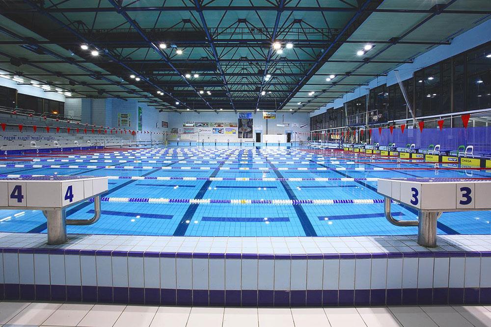 Университет арендует несколько дорожек для физкультуры в городском бассейне «Словане»